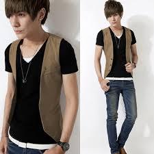 Fashion Men 039 S Slim Fit Formal Casual