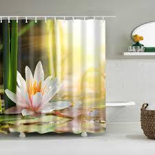 promo landschaft pflanzen bambus lotus blumen 3d bad
