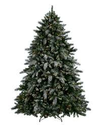 Silvertip Christmas Tree by Aspen Spruce Artificial Flocked Christmas Tree Tree Classics