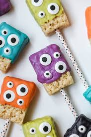 Rice Krispie Treats Halloween Theme by Monster Rice Krispies Treats Lil U0027 Luna