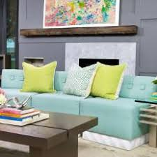 Grey Yellow And Turquoise Living Room by Photos Hgtv