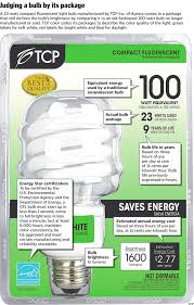 new federal label for household light bulbs packages could help