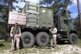 100 7 Ton Military Truck Medium Tactical Vehicle Replacement MTVR Top Speed