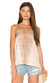 cami nyc the charlie charmeuse cami in rose dust revolve