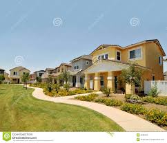 100 Modern Homes Arizona Row Of New In Stock Image Image Of Private