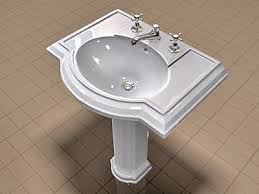 waterworks pedestal sink befon for