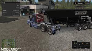 100 Semi Truck Games KENWORTH T600 SEMI TRUCK V1100 Mod Farming Simulator 17