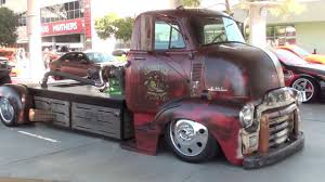 100 Rat Rod Semi Truck SEMA 2013 Mid Engine Turbo Diesel Truck YouTube