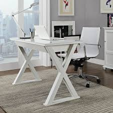 Tempered Glass Computer Desk by We Furniture 48