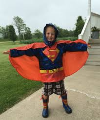 what they wore superhero rain gear for kids momma in flip flops