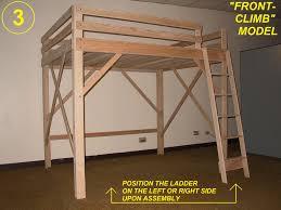 loft bed twin full queen king u0026 extra long loft beds bunk bed