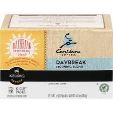 Caribou Coffee Daybreak Morning Blend K Cups
