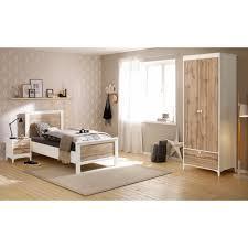 home affaire schlafzimmer set kjell set 3 tlg bestehend aus bett nachttisch und 2 türigem kleiderschrank