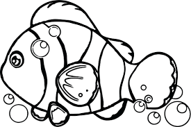 Fish Coloring Pages For Toddlers Underwater Page Realistic Ocean Adults Full Size