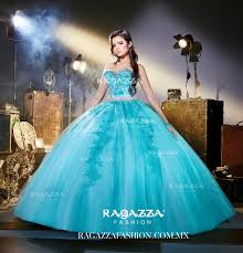 beaded strapless quinceanera dress by ragazza fashion style v72