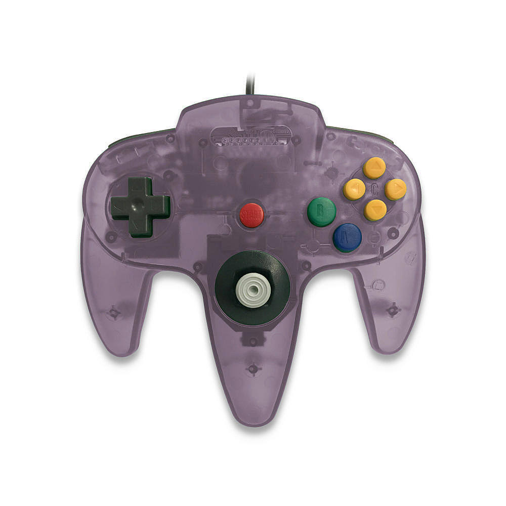 Skool Classic Wired Controller Joystick for Nintendo 64 N64 Game System - Atomic Purple