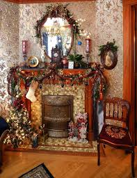 Antiques Abound In This Victorian Home's Christmas ... How To Use Brown Antique Fniture Furnishings House Folding Chair Stock Photos Cheap Cane Chairs Find Deals On Paint A Ding Room Table Home Guides Sf Ca1900 Antique Set 6 Oak Victorian P Derby Tback Small Button Back Hot Item New Design Two Sides Arch Set Wedding Backdrop For Party Vbanquet Decoration Elbow Elm Bowback Smokers Captains Desk C1880 Lighting Light Fixtures With Large Applying Decorative Upholstery Tacks And Nailhead Trim Woodleather Folding Stool History Britannica
