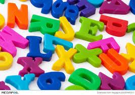 Magnetic Alphabet Letters Stock Megapixl