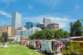 Denver, Colorado, USA-June 9, 2016. Food Trucks At The Civic.. Stock ... Wongwayveg Fileshamrock Food Truck Union Station Denverjpg Wikimedia Commons Trucks Eater A Look At The King Of Wings Food Yelp Teal Taco Denver Roaming Hunger J Street The Commissary Og Burgers Get On Board Colorado Homes And Liftyles Co Participants Dine Trucks During Debate Fest Truck Bonanza Civic Center Eats Returns