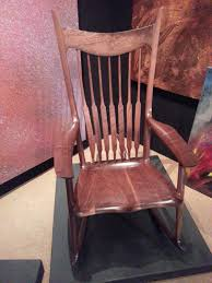 Sam Maloof Rocking Chair Video by Go Wood Perfection In Wood The Maloof Rocker