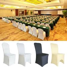 100 Universal Chair Covers Stretch Spandex For Wedding Party Banquet Hotel  Decor Cheap White Linen Chair Covers Find Folding Bulk Efavormart Chair Cover Orange Stretch Scuba Banquet Premium Madrid Spandex Banquet For Wedding Restaurant Events Chaircoverfactory Iloandsoldiersclub Sashes Classy Event Rentals Hampton Roads Whosale C001c Popular Black And Image Is Loading 1pcsatinrosette Amazoncom And Striped Ivory Covers Esraldaxtreme