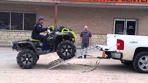 100 Atv Truck First Timer ATV Truck Loading YouTube