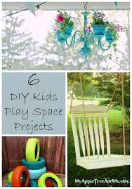 6 Outdoor DIY Projects For Kids Play Spaces