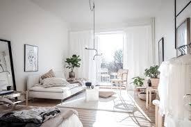 wohn schlafzimmer kombinieren 20 qm einzimmerwohnung
