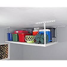Amazon SafeRacks 4x8 Overhead Garage Storage Rack Heavy
