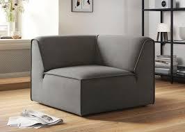 sofa eckelement fettes polster mit flexibler
