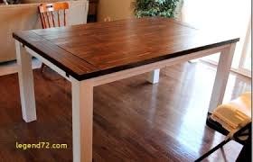 Top Result Diy Extendable Dining Table Plans Lovely Farmhouse With Extension Leaves