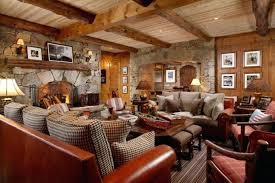 Cabin Living Room Furniture Log Cabin Decor Idea Sylvanian