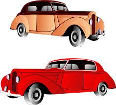 Classic Car Clipart Vintage 4
