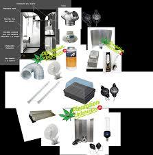kit chambre culture kit room lodge 120x90x145cm 400 watt