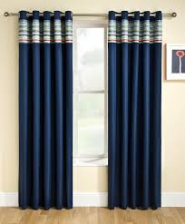 Baby Boy Nursery Curtains Uk by Siesta Blackout Eyelet Curtains Blue Free Uk Delivery Terrys