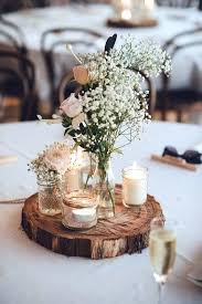 Rustic Table Decorations Wedding For Bridal Shower