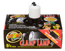 Flukers Sun Dome Clamp Lamp by Zoo Med Deluxe Porcelain Clamp Lamp Snakeestate