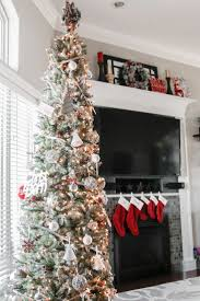 Pencil 6ft Pre Lit Christmas Tree by Best 25 Slim Christmas Tree Ideas On Pinterest Pencil Christmas