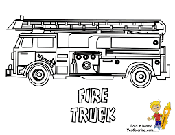 Fire Truck Coloring At YesColoring