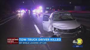 100 Truck Driving Jobs Fresno Ca Tow Truck Driver Killed In Highway 99 Crash Near Lwa Abc30com