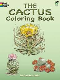 The Cactus Coloring Book By Stefen Bernath