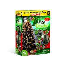 Tree Dazzler Christmas Light Show By The Maker Of Star Shower Installs In Minutes