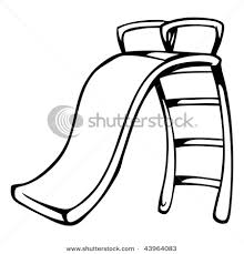 Playground Clip Art Black And White