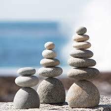 Natural River Stone Rock Cairn Zen Garden Pile Stones Awesome