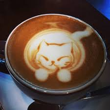 9 Fat Kitty In Coffee Reminds You To Cut Back On The Sugar Latte Art Cat