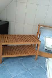 badezimmer landhaus bank holzbank spiegel ikea bettenlager