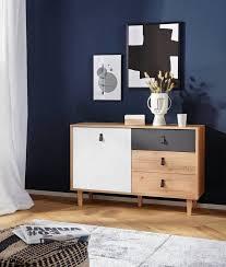 homexperts sideboard bristol breite 120 cm oder 180 cm mit massiven eichefüßen kaufen otto