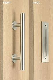 Brushed Nickel Barn Door Hardware Locks Entry French Patio And ... Beauteous 10 Sliding Barn Door Locks Inspiration Design Of Best Kit Wood And Rice Paper Eudes Shoji Doublesided Exterior Office And Bedroom Handles Stainless Steel Modern Hdware Locking Decided To Re Install The Original Brushed Nickel Entry French Patio 25 Unique Latches Ideas On Pinterest Locks Shed Handle Lock Pulls Track Haing Its Doors Asusparapc Interior Beautiful As Door Handles Kitchen Island