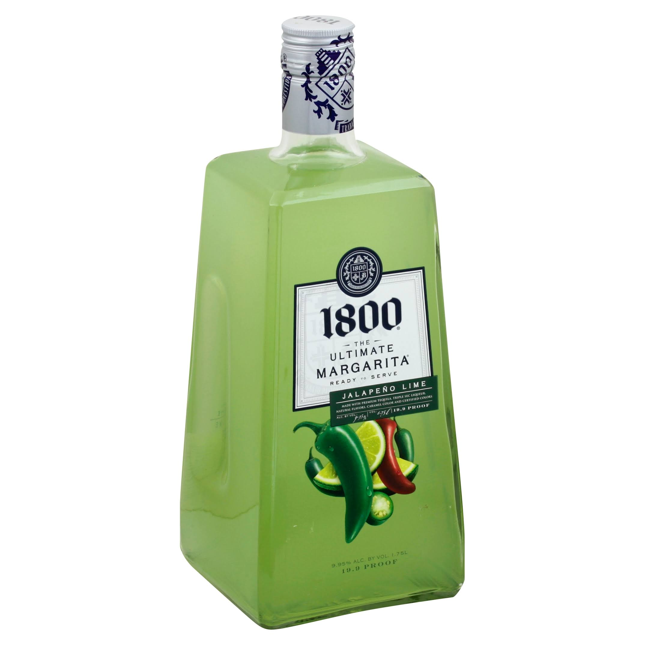 1800 Margarita, The Ultimate, Jalapeno Lime - 1.75 l