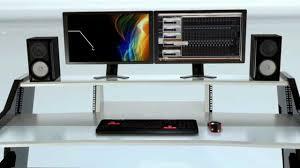 Omnirax Presto 4 Studio Desk Black Dimensions by Studio Desk Home Studio Desk 2 Diy Fully Custom Built Studio